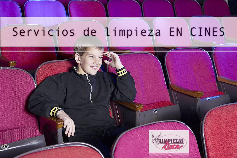Servicios de limpiezas en cines Cantabria Limpiezas Lince
